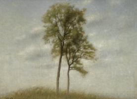 Вильгельм Хаммерсхёй. Молодые деревья