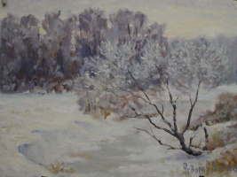 Valery Fedorov. The Vosges in winter