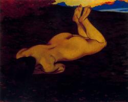 Felix Vallotton. Nude