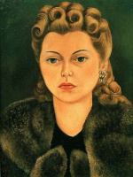 Frida Kahlo. Portrait Of Natasha Gelman