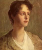 Джулиан Олден Уир. Портрет женщины