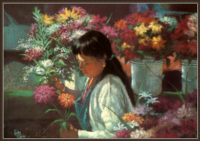 Вики Кларк. Сиэтл. Цветочный рынок