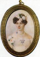 Петр Федорович Соколов. Портрет Е.Г. Чертковой. 1820-е