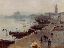 Джон Сингер Сарджент. Венеция в тумане