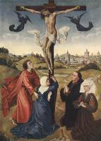 Рогир ван дер Вейден. Распятие Христа