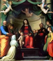 Фра Бартоломео. Мистическое обручение Святой Екатерины Сиенской