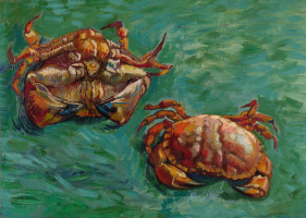 Vincent van Gogh. Two crabs