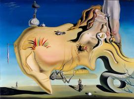 Salvador Dali. Great masturbator
