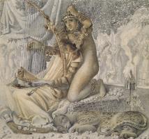 Симеон Соломон. Вавилон был золотой чашей