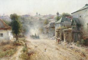 Михаил Андреевич Беркос. Улица в Умани