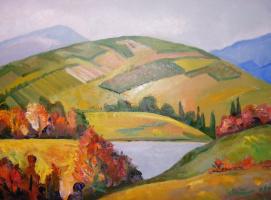Шандор-Роберт Матяшевич Зихерман. Осень в Карпатах