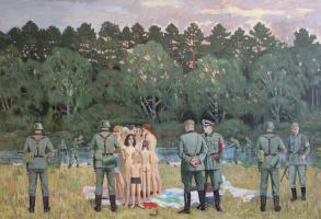 Евгений Александрович Казанцев. (The Barbarossa plan) Einsatz team.