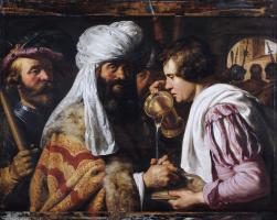 Ян Ливенс. Пилат умывает руки