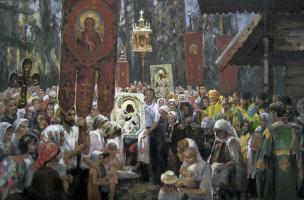 Борис Анатольевич Студенцов. Крестный ход
