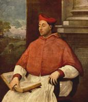 Себастьяно дель Пьомбо. Портрет кардинала Антонио