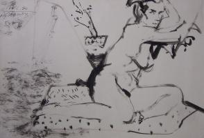 Nikolay Aleksandrovich Pavlov. Nude