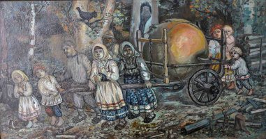 Ефим Васильевич Честняков (Самуилов). Чудесное яблоко
