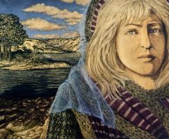 Анна Морин. Светловолосая женщина