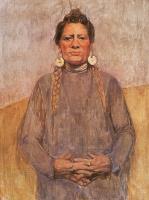 Бесси Х. Вессель. Портрет женщины