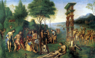 Лоренцо Коста. Царство Комуса