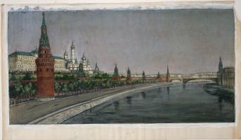 Семен Иванович Аферов. Берсеньевская набережная