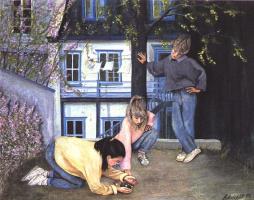 Андре Латулипп. Игры детей зимой