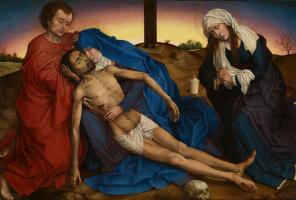 Rogier van der Weyden. Pieta