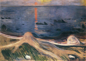 Edvard Munch. The mystery of a summer night