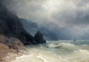 Ivan Aivazovsky. Coast