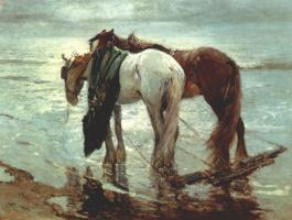 Ритсчел. Рыбацкие лошади