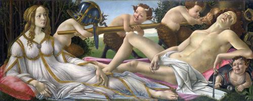 Сандро Боттичелли. Венера и Марс