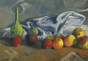 Paul Gauguin. Still life with apples