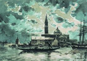 Alexey Petrovich Bogolyubov. Venice