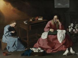 Отрок Иисус, созерцающий терновый венец