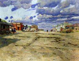The Town Of Voskresensk . 1908