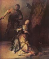 Рембрандт Ван Рейн. Самсон и Далила