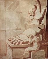 Иоганн Генрих Фюссли. Художник, подавленный величием античных развалин