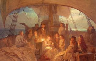Джон Абсолон. Корабль переселенцев