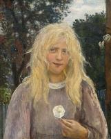 Ханс Хейердал. Девушка с льняными волосами
