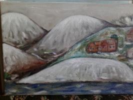 "Eva Nabi. ""Снег в горах"""
