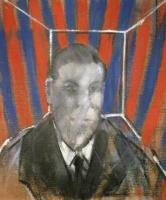 Фрэнсис Бэкон. Портрет мужчины в голубом