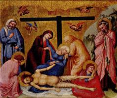 Уголино Лоренцетти. Оплакивание Христа