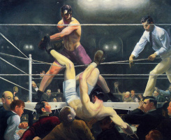 George Wesley Bellows. Dempsey and Firpo