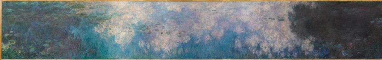 Клод Моне. Водяные лилии : облака