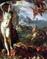Иоахим Эйтевал. Персей и Андромеда