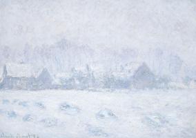 Эффект снега в Живерни