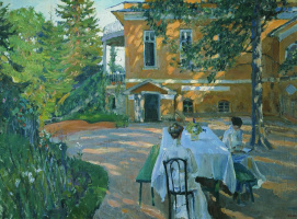 Sergey Arsenievich Vinogradov. In the summer