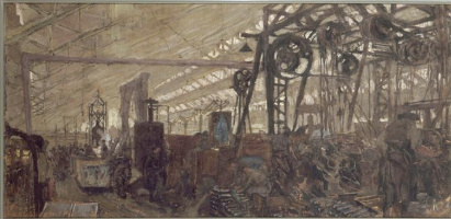 Jean Edouard Vuillard. Ammunition factory in Lyon
