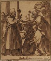 Джованни Бальоне (Баглионе). Проповедь Святого Петра