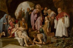Peter Peters Lastman. The Raising of Lazarus